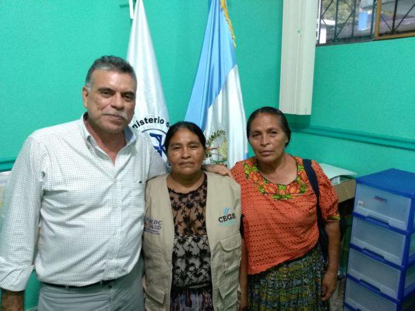 Reunión con Dirección de Area de salud Alta Verapaz