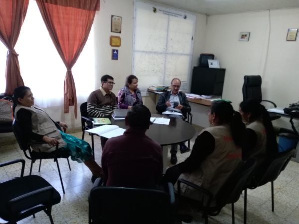 Reunión con Dirección de Area de Salud de Huehuetenango