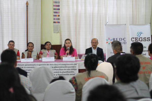 """Foro """"Participación ciudadana para la mejora de los servicios públicos: El caso de salud"""""""